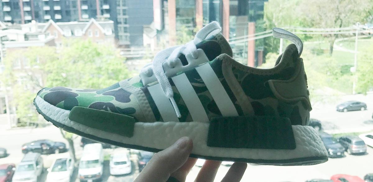 Bape NMD Sneaker